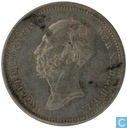 Coins - the Netherlands - Netherlands 25 cent 1848 (with dot)
