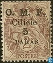 Allegory (Type Blanc), with overprint