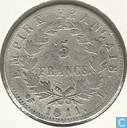 Frankrijk 5 francs 1811 (L)