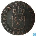 Frankreich 1 Liard 1783 (W)