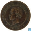 Haïti 20 centimes 1863