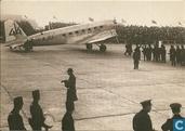 DC2 Uiver terug op Schiphol 1934