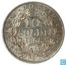 Kerkelijke Staat 10 soldi 1868 (XXII)