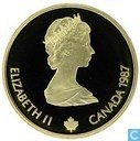 "Canada 100 dollars 1987 ""Calgary 1988"""