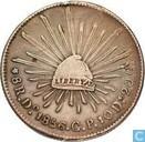 Mexique 8 reales 1856