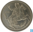 "Greece 20 drachmai 1973 (wide rim, continuous waves) ""The coup d ' état of 21 April 1967"""