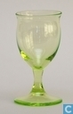 Glass / crystal - Kristalunie - Andy Likeurstel vert-chine