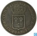 France 1/3 ecu 1720 (A - with crowned escutcheon)