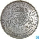 Suède 2 couronnes 1897