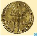 Holland ducat 1743