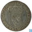 Frankrijk 1/12 écu 1660 A