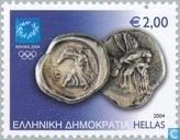 Olympische Spelen - Oude munten