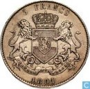 Congo Free State 5 Francs 1891