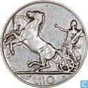 Italië 10 lire 1927 (*FERT*)