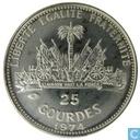 "Haiti 25 gourdes 1974 ""Bicentenary of United States of America"""