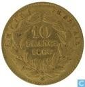 France 10 francs 1868 (BB)