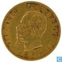 Italie 20 lire 1875
