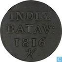 Indes néerlandaises 1 duit 1816 H