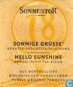 18 SONNIGE GRÜSSE Kräuter-Früchteteemischung | HELLO SUNSHINE Herbal-Fruit Tea Blend