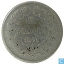 France 2 francs 1871 (K - without legend)