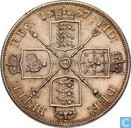 United Kingdom 2 florin 1887 (arabic 1)