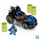Imaginext DC Superfriends Black Batmobile