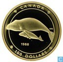 "Canada 100 dollars 1988 ""Walvis"""