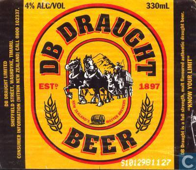 db draught beer db brewery auckland catawiki