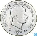 Koninkrijk Italië 5 lire 1808 (M)