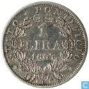 Papal States 1 lira 1867 (XXI)
