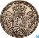 België 2½ franc 1850