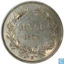 Papal States Scudo 1854 1 R