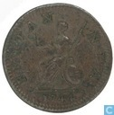 United Kingdom 1744 1 farthing