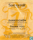 Sachets et étiquettes de thé - Sonnentor® -  1 DANKESCHÖN Kräuterteemischung | THANK YOU Herbal Tea Blend