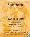 Theezakjes en theelabels - Sonnentor® -  1 DANKESCHÖN Kräuterteemischung | THANK YOU Herbal Tea Blend