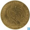 France 10 francs 1908