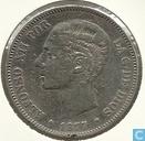 Spanien 5 Peseten 1877