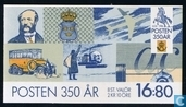 350 years Swedish Post