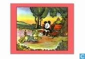 Strips - Panda - De meester-racer + De meester-zanger