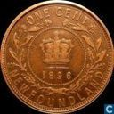Newfoundland one cent 1896