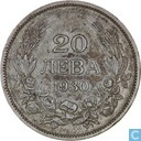 Bulgaria 20 Leva 1930