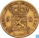 Nederland 5 gulden 1827 U