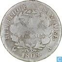 France 1 franc 1808 (A)
