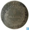 Frankreich 5 Franc 1813 (M)