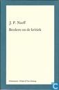 Bredero en de kritiek : een bloemlezing uit de literatuur over Bredero