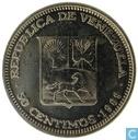 Venezuela 50 centimos 1989