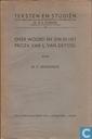 Over woord en zin in het proza van L. van Deyssel