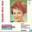 Suomen eurovisio iskelmiä grand prix 1962