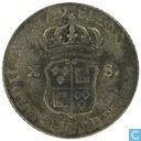 France X sols 1719 A