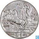 Italy 1 lira 1909